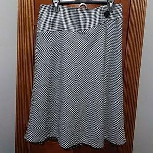 ❤Nwot gorgeous vintage looking side zip skirt 12